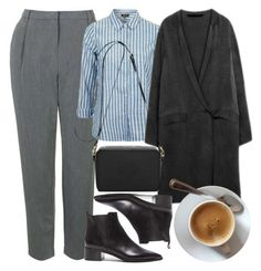 """""""Untitled #5637"""" by rachellouisewilliamson ❤ liked on Polyvore featuring Topshop, Acne Studios and Mulberry"""