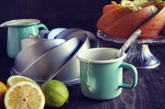 Bundtcake de lima-limón y coco