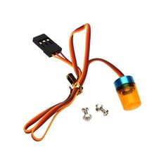 3 Colors RC Car Parts AX-511 Brand Ultra Bright RC Car LED Lamp Light with Strobing-blasting Flashing Fast-slow Rotating Mode