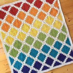 CROCHET PATTERN (US terms) – Spin Your Granny Square blanket pattern, Afghan pattern, blanket pattern, throw pattern, baby blanket pattern – Knitting Blanket 2020 Motifs Afghans, Afghan Patterns, Crochet Blanket Patterns, Crochet Stitches, Knit Crochet, Crochet Blankets, Crochet Cushions, Crochet Pillow, Crochet Afghans