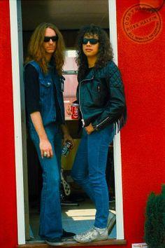 #Cliff Burton #Kirk Hammett