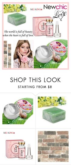 """Newchic 2"" by lili-876 ❤ liked on Polyvore featuring beauty and Wall Pops!"