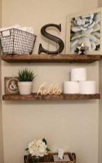 Rustic farmhouse bathroom decor ideas (16)