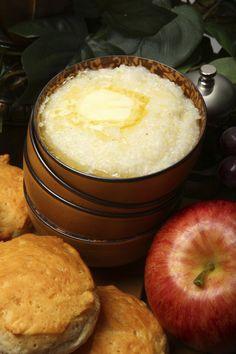 Pumpkin-Sage Cheese Grits Recipe