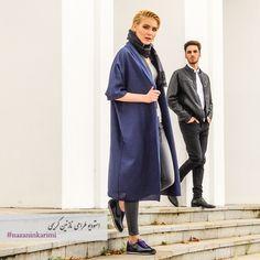 Fall Daily Casual You can wear daily casuals but still be classy and beautiful  Available in black, creme and dark blue  مانتوهاى روز و راحت طراحى نازنين كريمى  موجود در بوتيك گاندى Photography: @wedmod  Makeup Artist: @saharhosseini77 Photographer: @amirhabibi_99 #nk #nazaninkarimi #casual #daily #outerwear #nkdesignstudio #nkboutique #fashion #style #istanbul #tehran #iran