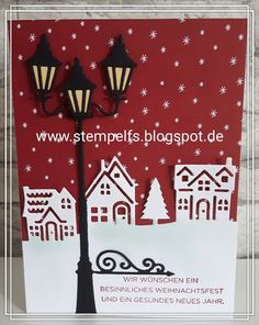 Brightly Lit and Home for Christmas SU; Stempel, Farben & Spaß