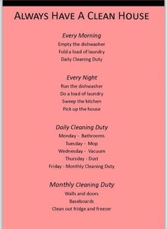 Good Tips On How To Keep Your House Clean