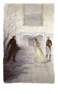 Wuthering Heights, illustrated by Rovina Cai || Folio Illustrated Book