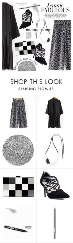 """Make It Monochrome /4"" by ansev ❤ liked on Polyvore featuring Crabtree & Evelyn, Marni, ALDO, Isadora, LORAC, monochrome and zaful"