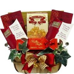 Thoughtful Wishes Gourmet Food Gift Basket