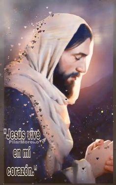 Jesus Gif, My Jesus, Jesus Christ, Love You Gif, Cute Love Gif, Spanish Inspirational Quotes, Motivational Quotes, Jesus Knocking On Door, Lion Of Judah Jesus