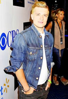 Josh Hutcherson at CBS' Teachers Rock live concert.