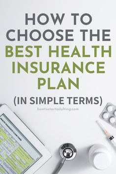 How To Choose The Best Health Insurance Plan (In Simple Terms), Comparing health care plans explained #healthcare #healthinsurance #insurance #adulting #newjob #benefits #healthcarebenefits Compare Health Insurance, Types Of Health Insurance, Private Health Insurance, Health Insurance Policies, Health Insurance Plans, Health And Wellness, Health Care, Types Of Planning