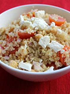 Super Simple Quinoa Salad. Clean ingredients delicious and easy to make!.