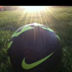 I have played soccer sense I was seven years old, and I still love it. <3