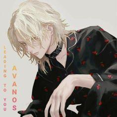 Blonde Anime Boy, Anime Guy Long Hair, Anime Boy Hair, Dark Anime Guys, Cool Anime Guys, Handsome Anime Guys, Cute Anime Boy, Anime Boys, Art Anime Fille