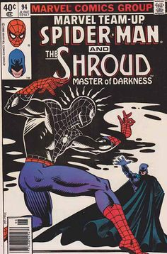 Spider-Man and The Shroud ...   Marvel Team Up #94