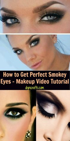 How to Get Perfect Smokey Eyes - Makeup Video Tutorial – DIY & Crafts