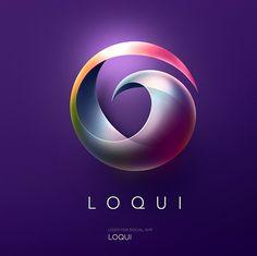 Stunning Logo Design & Logotype Ideas by Pavel Zertsikel 3d Logo, Best Logo Design, Graphic Design, Logo Circular, Logos Online, Logo Tutorial, Anniversary Logo, 3d Video, Typography Logo