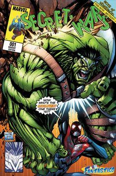 #Hulk #Fan #Art. (MARVEL VARIANT COVER SECRET WARS #1 Cover) By: Sandoval-Art. (THE * 5 * STÅR * ÅWARD * OF: * AW YEAH, IT'S MAJOR ÅWESOMENESS!!!™)[THANK Ü 4 PINNING<·><]<©>ÅÅÅ+(OB4E)