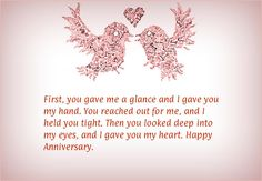 Happy Anniversary Wishes Images and Quotes. Send Anniversary Cards with Messages. Happy wedding anniversary wishes, happy birthday marriage anniversary Anniversary Message For Husband, Anniversary Quotes For Parents, Happy Anniversary Messages, Wedding Anniversary Quotes, Wedding Quotes, Anniversary Cards, Anniversary Ideas, Wedding Wishes, 25th Anniversary