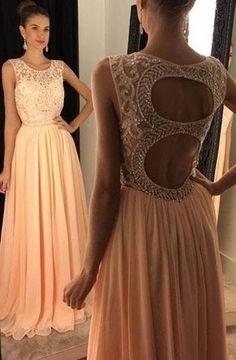 Popular Beaded Prom Dress, Long Formal Dress SP2078