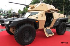 Panhard's Crab Armored Scout Vehicles