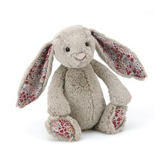 Buy Bashful Blossom Beige Bunny - Online at Jellycat.com