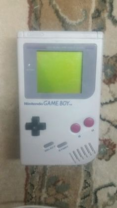 Nintendo Game Boy DMG-01 Original Handheld Console - FULLY TESTED & WORKING - http://video-games.goshoppins.com/video-game-consoles/nintendo-game-boy-dmg-01-original-handheld-console-fully-tested-working/