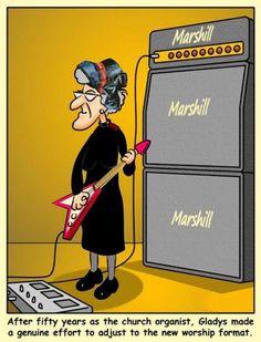 New Worship Music leader