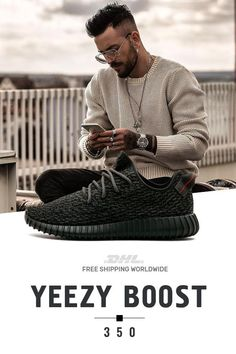 abcb755d7e8b8 How to get mens size Adidas Yeezy Boost 350 Pirate Black at the best price