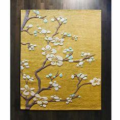 Cherry Blossom Rug Shopten 25 Interior Design Dallas Tx Global Views Rug Floral Rug Rugs