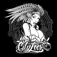 GRIFFE TATTOO: Desenhos de Índias para tattoo