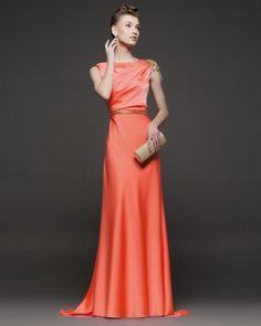 - Silk gown. Available in Navy, Pale Pink, Amethyst, Purple, Black, Fuchia, Green, Silver, Blue, Grey and Red.