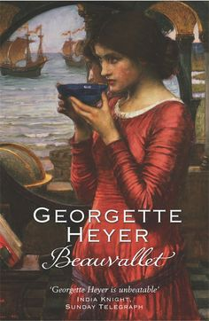 Beauvallet by Georgette Heyer -- an Elizabethan romance. Beauvallet is descended from Simon Malvallet (the Coldheart) Georgette Heyer, Book Suggestions, Historical Romance, Music Tv, Free Books, Books Online, Book Worms, Books To Read, Literature