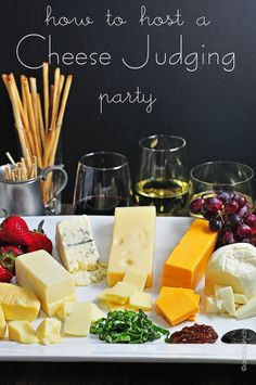 How to Host a Cheese Judging Party  #crackerbarrelcheese #bh #ad