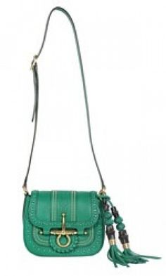 I just LOVE this Gucci Bag Hand Made Small Flap With Interlaces by Gucci