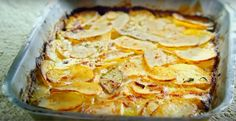 Jamie Oliver creates a stunning potato dish and one bite is said to get you hooked Snack Recipes, Dinner Recipes, Healthy Recipes, Snacks, Potatoes Dauphinoise, Main Dishes, Side Dishes, First Bite, Potato Dishes