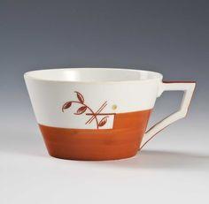 Nora Gulbrandsen, Porsgrunds Porselænsfabrik AS (Produsent), Tea Cup Saucer, Teacup, Mugs, Tableware, Design, Tea Cup, Dinnerware, Tumblers, Tablewares