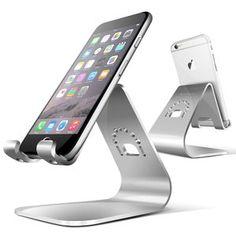 Amazon.co.jp: Spinido®TiTop Series iPhone 対応メグネシウム‐アルミニウム合金 デスクスタンド スマートフォン適用(iPhone, silver): 家電・カメラ