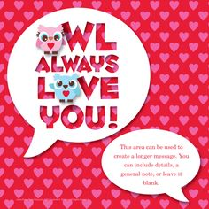 #Owl #Always #Love   #You II #Valentine's #Day designed by Jeannie L Dickson on @pingg