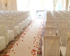 To carpet or not to carpet? That is yet another question - runner for ceremony bit £50