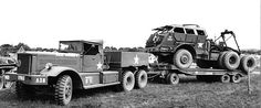 Us Army Vehicles, Armored Vehicles, Us Army Trucks, Old Trucks, Heavy Duty Trucks, Heavy Truck, Dragon Wagon, Old Lorries, Ww2 Tanks