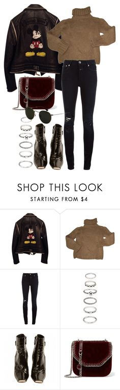 """""""Untitled #11404"""" by nikka-phillips ❤ liked on Polyvore featuring Philipp Plein, Isabel Marant, Closed, Forever 21, Louis Vuitton, STELLA McCARTNEY and Ray-Ban"""