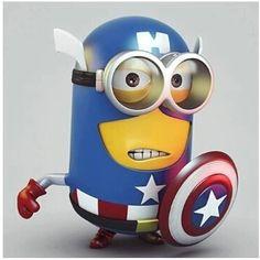 Superhero minion