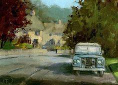 """Series Three Landrover (£99)"" - Original Fine Art for Sale - © Nigel Fletcher"
