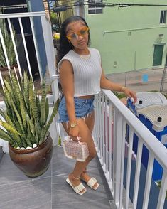 Boujee Outfits, Baddie Outfits Casual, Cute Swag Outfits, Pretty Outfits, Summer Outfits, Fashion Outfits, Fashion Ideas, Fresh Outfits, Fashion Styles