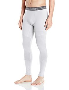 b1eb241b369462 Under Armour Mens ColdGear Armour Elements Leggings White Large *** Learn  more by visiting