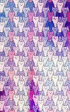 Iphone Wallpaper Cat, Cute Cat Wallpaper, Kawaii Wallpaper, Cute Wallpaper Backgrounds, Animal Wallpaper, Cellphone Wallpaper, Pattern Wallpaper, Cute Wallpapers, Wallpaper Wallpapers