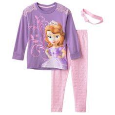 Disney Sofia the First Tunic & Leggings Set - Girls 4-6x